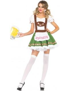 Oktoberfest Kostume Søde Tyrolerkjole