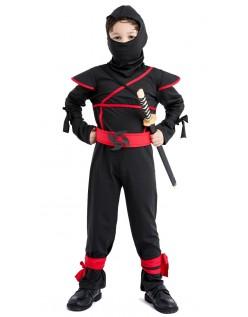 Halloween Mester Ninja Kostume Til Børn