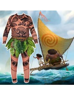 Film Vaiana Moana Prinsesse Maui Kostume til Mænd