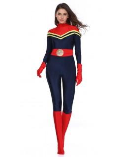 Kvinder Avengers Captain Marvel Kostume