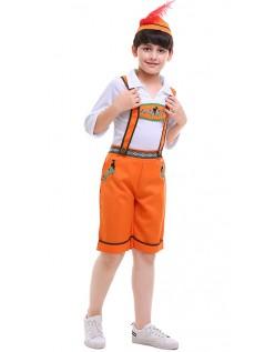 Tyske Land Drenge Oktoberfest Lederhosen Kostume Børn