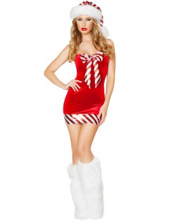 838954d5fac5 Candy Cane Nissepige Kostume