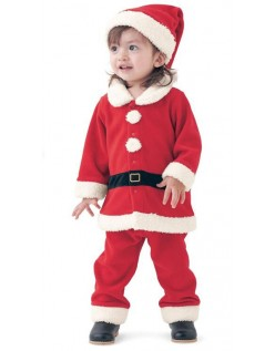 Babyer Julemandskostume til Drenge og Piger