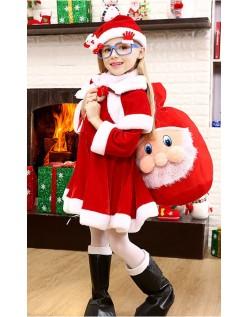 Julemandskostume til Piger