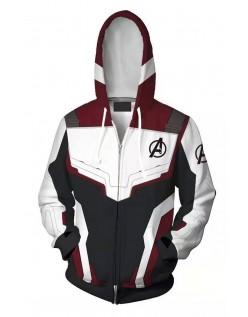 Marvel Avengers Endgame Quantum Kostume Langærmet Hættetrøje med Lynlås