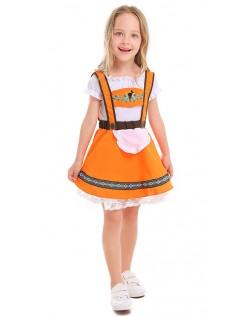 Tyske Land Piger Tyroler Kostume Oktoberfestkjole Børn