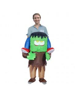 Oppusteligt Frankenstein Kostume til Voksne og Børn