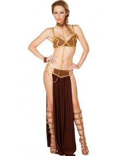 Rumslaver Prinsesse Kostume