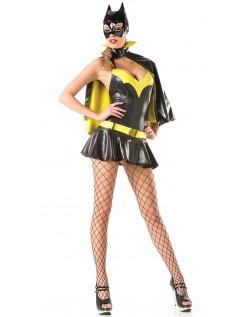 Flot Frække Batgirl Kostume