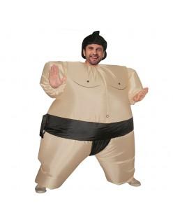 Oppusteligt Sumo Kostume til Voksne og Børn