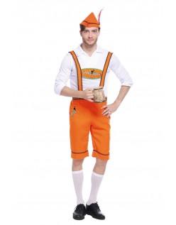 Tysk Landmand Oktoberfest Lederhosen Kostume