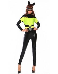 Mørk Ridder Superhelte Batgirl Kostume