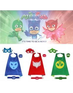 PJ Masks Kostume Catboy Kappe Superhelte Kappe Til Børn Sæt