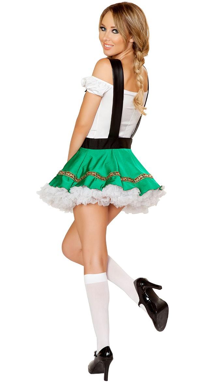 7cb92babd0c4 Grøn Tyroler Kostume Oktoberfest Kjole