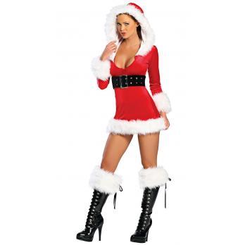 Julemandens Hjælper Kostume til Kvinder