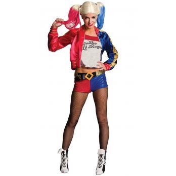 Børn Suicide Squad Harley Quinn Kostume Broderet Sæt